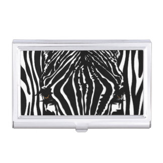 Zebra Head Business Card Holder