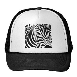 Zebra Head Trucker Hat