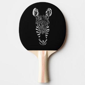 Zebra Head Ping Pong Paddle