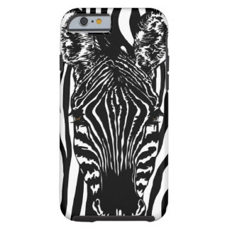Zebra Head Tough iPhone 6 Case