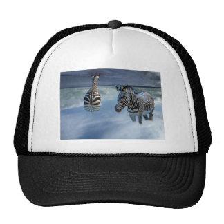 Zebra Heaven Trucker Hat