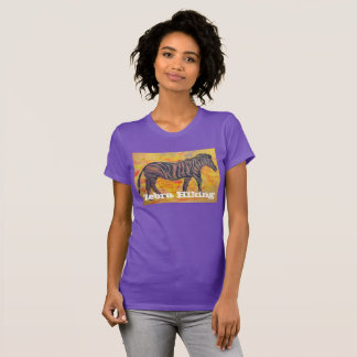 Zebra Hiking T-Shirt
