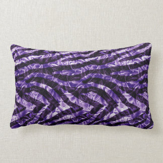 Zebra Hyacinth Lumbar Pillow