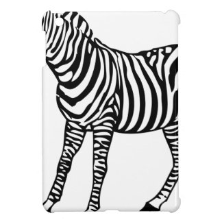 Zebra Illustration iPad Mini Case