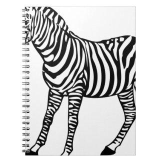 Zebra Illustration Notebooks