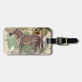 Zebra in Africa Luggage Tag