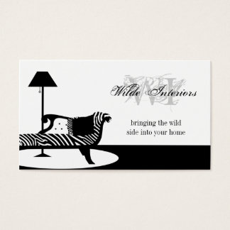 Zebra Interior Design : Business Cards