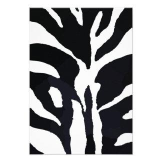 Zebra Personalized Invite