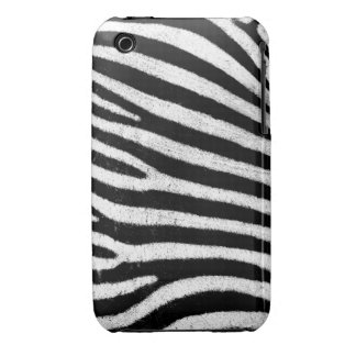 Zebra iPhone 3G/3GS Case-Mate Barely There™ iPhone 3 Case