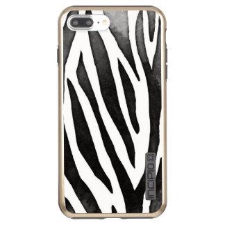 Zebra iPhone 7 Plus DualPro Shine, Gold Incipio DualPro Shine iPhone 8 Plus/7 Plus Case