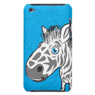 Zebra is Cute iPod Case-Mate Case