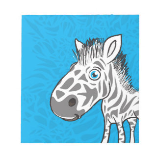 Zebra is Cute Notepad