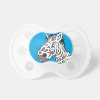 Zebra is Cute Pacifier