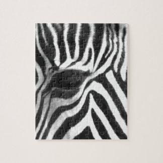 Zebra Jigsaw Puzzle