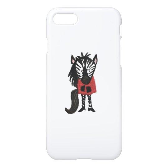 Zebra Jungle Friends Baby Animal Water Colour iPhone 7 Case