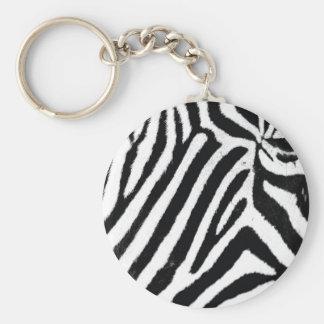 Zebra Keychain