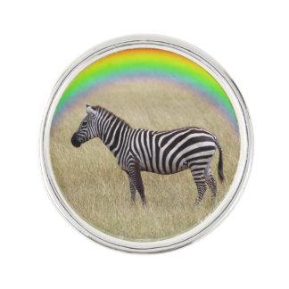 Zebra Lapel Pin