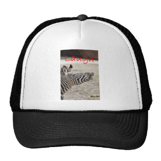 zebra laugh hat