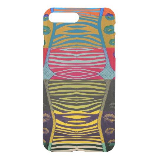 Zebra Lips POP Art iPhone 7 Plus Case