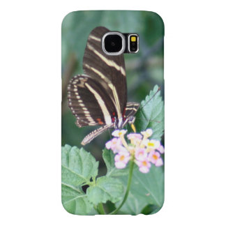 Zebra Longwing Photo Samsung Galaxy S6 Cases