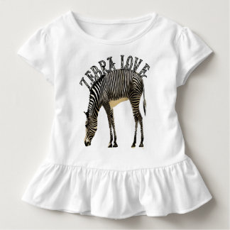 Zebra Love Toddler T-shirt