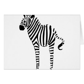 Zebra Lovers Gifts Card
