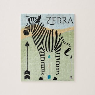 Zebra Lovers Gifts Jigsaw Puzzle