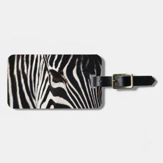 Zebra Luggage Tag