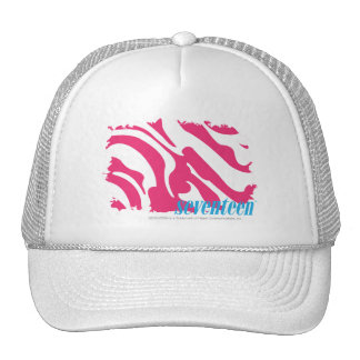 Zebra Magenta 3 Trucker Hat