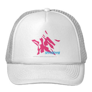 Zebra Magenta 4 Trucker Hat