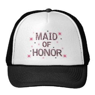 Zebra Maid of Honor Trucker Hat