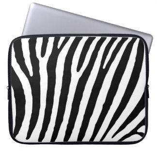 Zebra-markings Laptop Sleeve