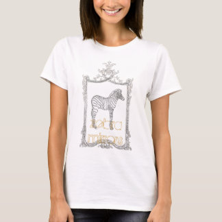 zebra mirrors T-Shirt