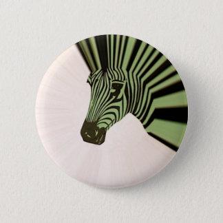 zebra mohawk 2 inch round button
