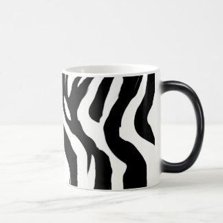 Zebra Morphing Mug