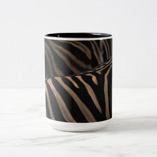 Zebra Mug-Cup Zebra Two-Tone Coffee Mug