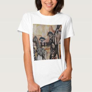 Zebra Mural T-shirt