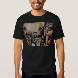 Zebra Mural T Shirts