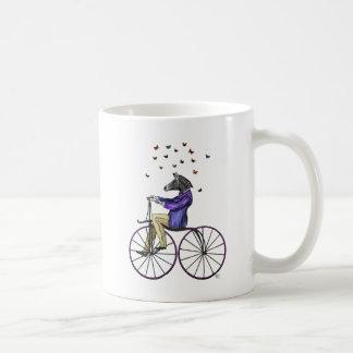 Zebra On Bicycle Coffee Mug