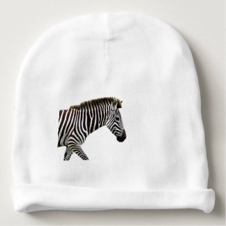 zebra-on-the-masai-mara baby beanie