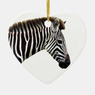 zebra-on-the-masai-mara ceramic ornament
