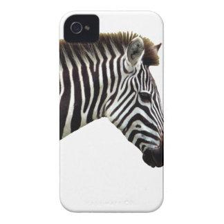 zebra-on-the-masai-mara iPhone 4 cases
