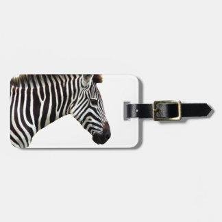 zebra-on-the-masai-mara luggage tag