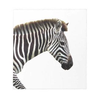 zebra-on-the-masai-mara notepad