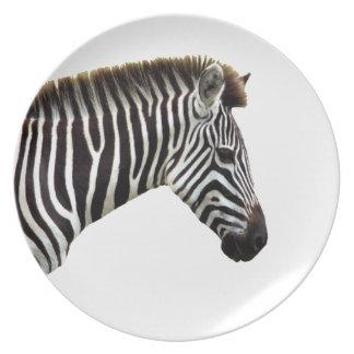 zebra-on-the-masai-mara plate