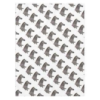 zebra-on-the-masai-mara tablecloth