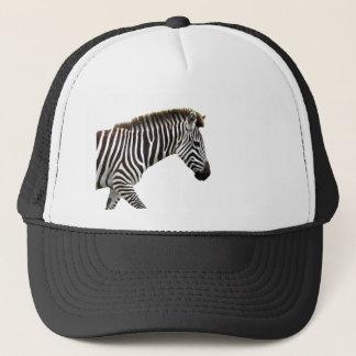 zebra-on-the-masai-mara trucker hat
