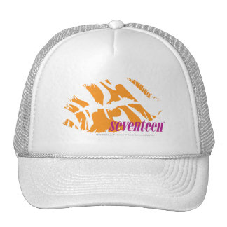 Zebra Orange Trucker Hat