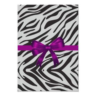 Zebra Party Invitation bachelorette party