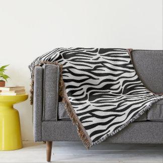 Zebra Pattern Blanket